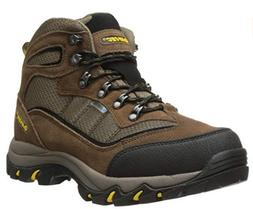 Hi-Tec Men's Skamania Mid Waterproof Hiking Boot, Brown/Gold
