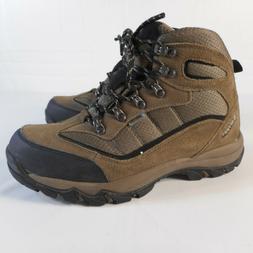 Hi-Tec Mens Skamania Mid Waterproof Hiking Boots Brown Size