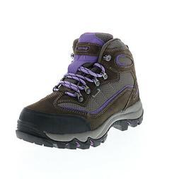 Hi-Tec Skamania WP 9022 Womens Gray Leather Lace Up Hiking B