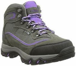 Women's Hi--Tec Skamania Waterproof Grey Violet Hiking Boots