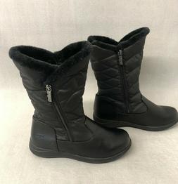 TOTES JAZZY Women's Warm Waterproof Snow Zip Up Winter BOOTS