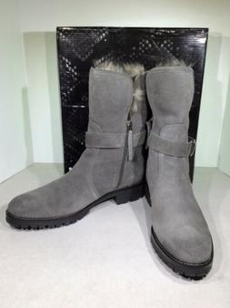Sam Edelman Jeanie Women's Size 11M Dark Grey Suede Winter