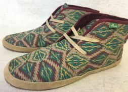 Sanuk Juniper Stone Womens 7 Tan / Multi Southwestern Ankle