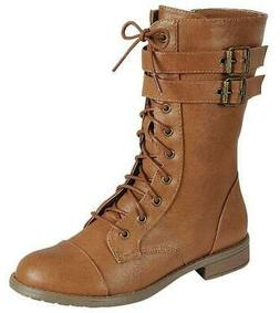 JUSTINA 45 - Forever Link Women's Military Stlye Boots