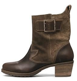 OLUKAI Ka'iulani Boot - Women's Seal Brown/Mustang 5