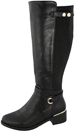 Top Moda Women's Kendall-8 Knee High Riding Boot