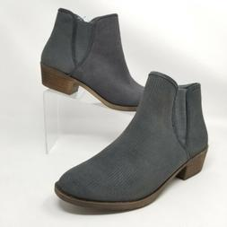 Kensie Womens Ankle Boots Gerona Short Booties Gray Sizes 6.