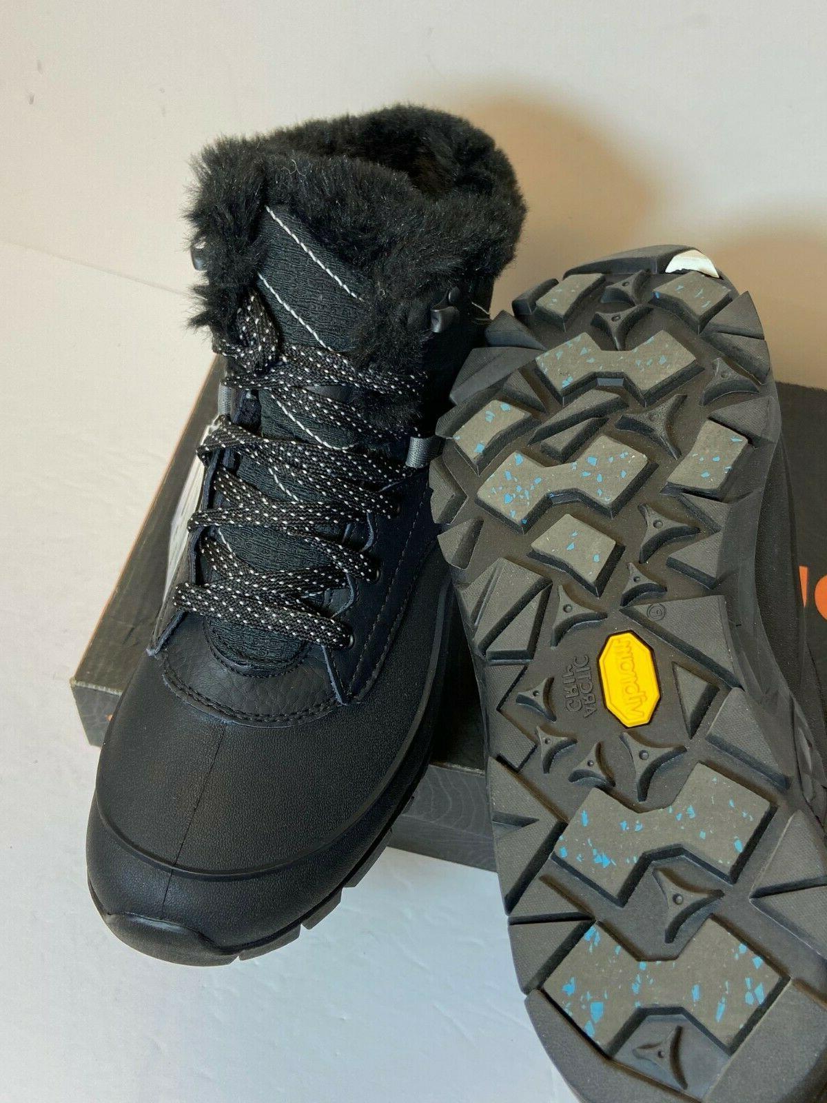 $150 Merrell Aurora Ice Hiking Women Thinsulate Blk