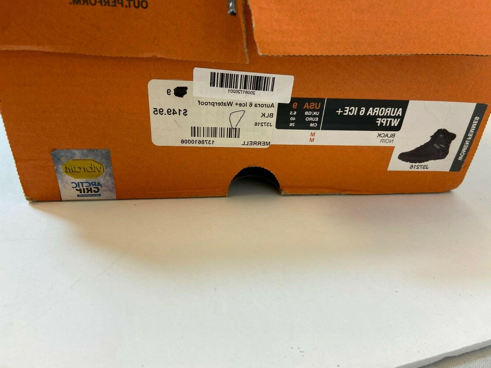 $150 Merrell 6 Ice Boots Women Sz Thinsulate Blk