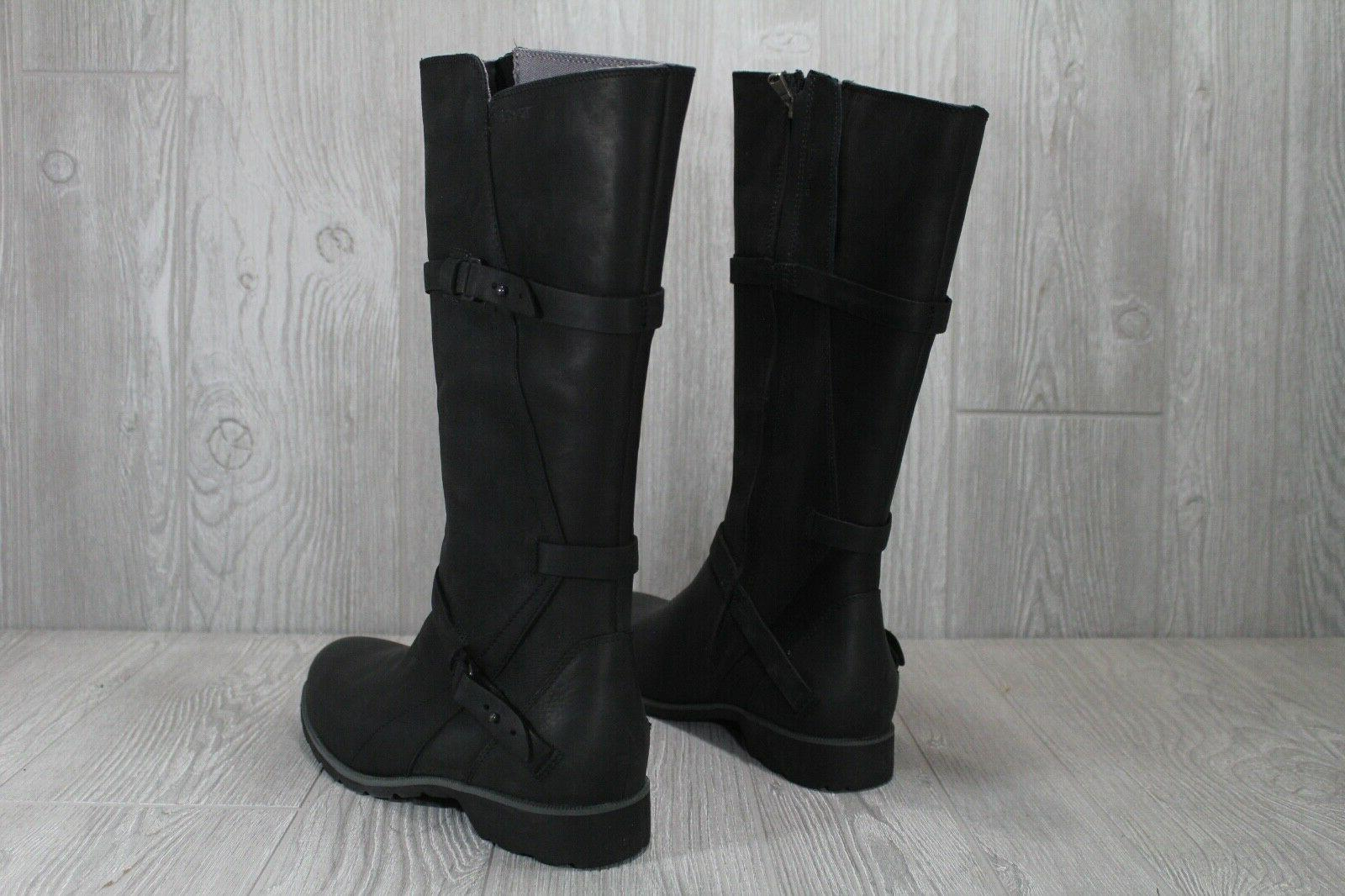 44 Teva La Vina Leather Riding Boots Waterproof 8.5