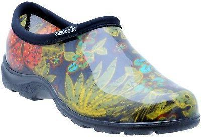 Midsummer Black Sloggers 5102BK08 Women/'s Garden Shoes Size 8