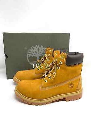 Timberland 6 inch Premium Waterproof Yellow Wheat J / Women
