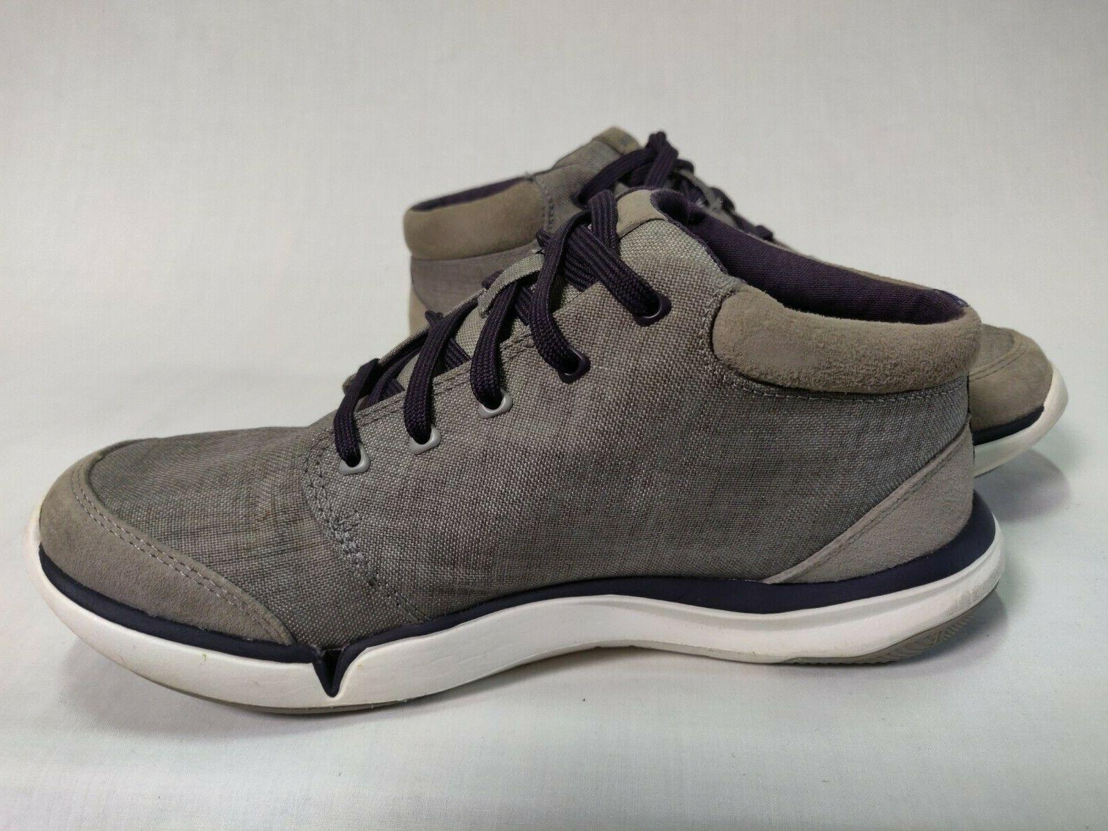 $60 Teva Women's Shoes Boots Canvas Gray Size
