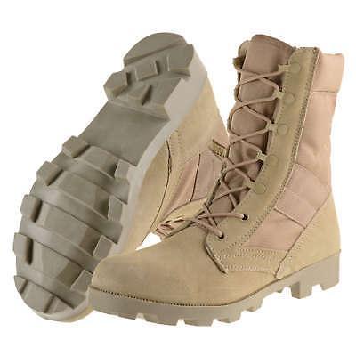 Ameritac Zip Suede Combat Outdoor Boots