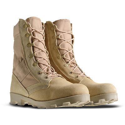 Ameritac Side Suede Leather Combat Outdoor Men's Desert Boots