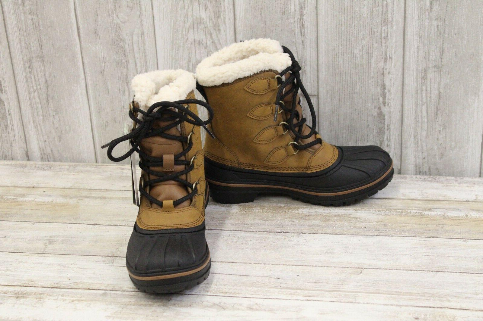 Crocs Allcast II Winter Boots - Women's Size 4, Wheat