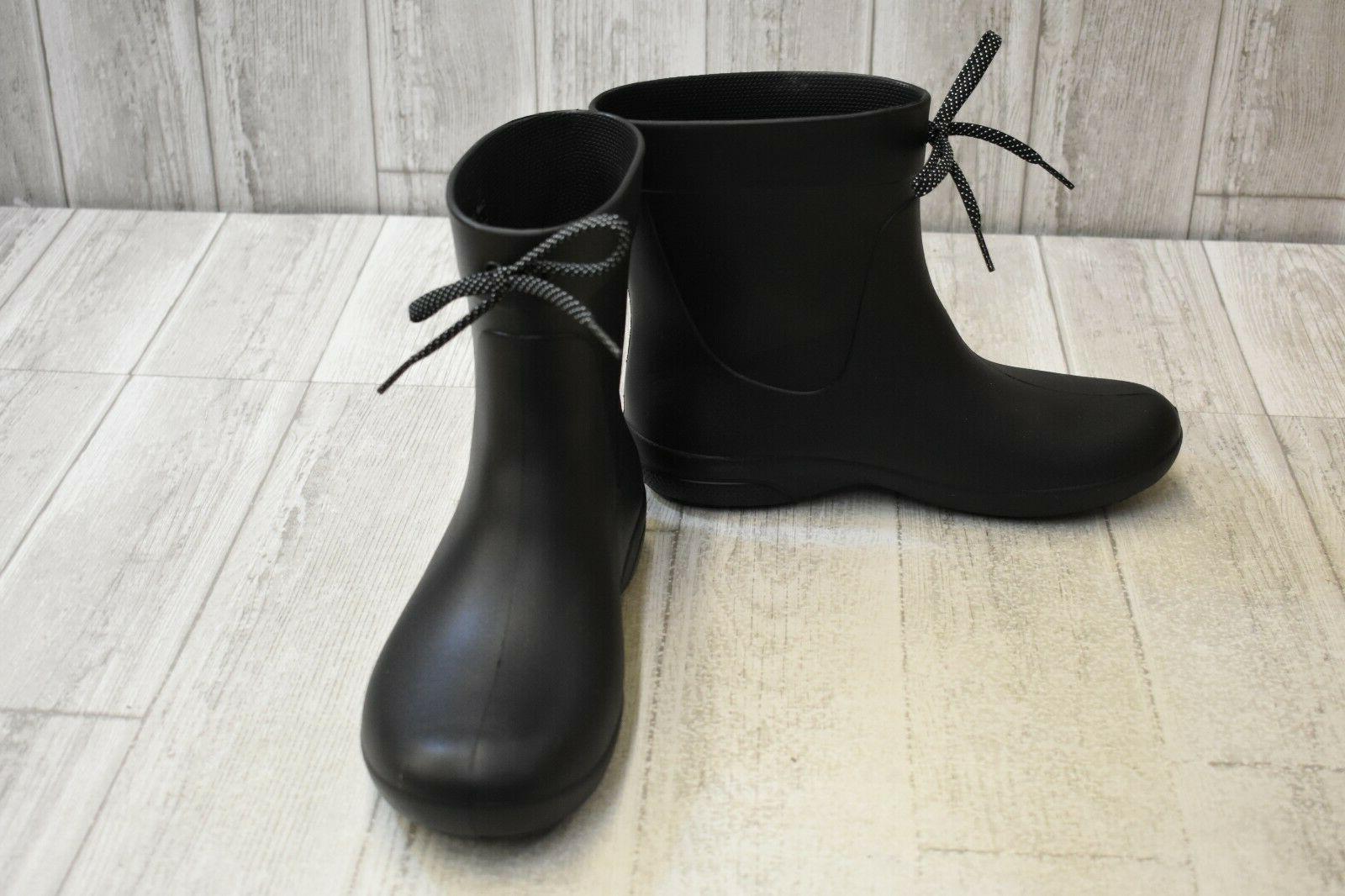 Crocs Freesail Shorty Womens  9 Medium Black Pull on Waterpr