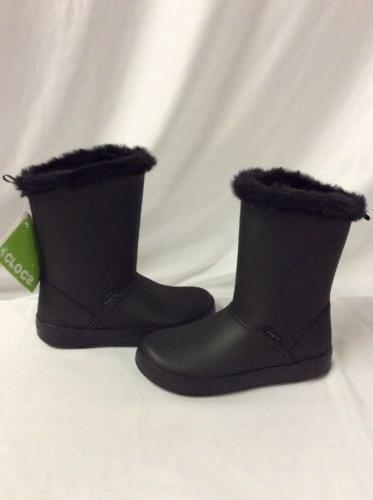 Crocs Women's  Crocband Jaunt Shorty Boots, Gray, Size 6