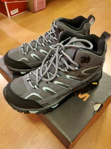 Merrell Women's Moab 2 Mid GTX Hiking Boot Sedona Sage 8 B U