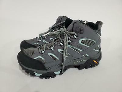 Merrell Women's Moab 2 Mid GTX Hiking Boot, Sedona Sage, 8 W
