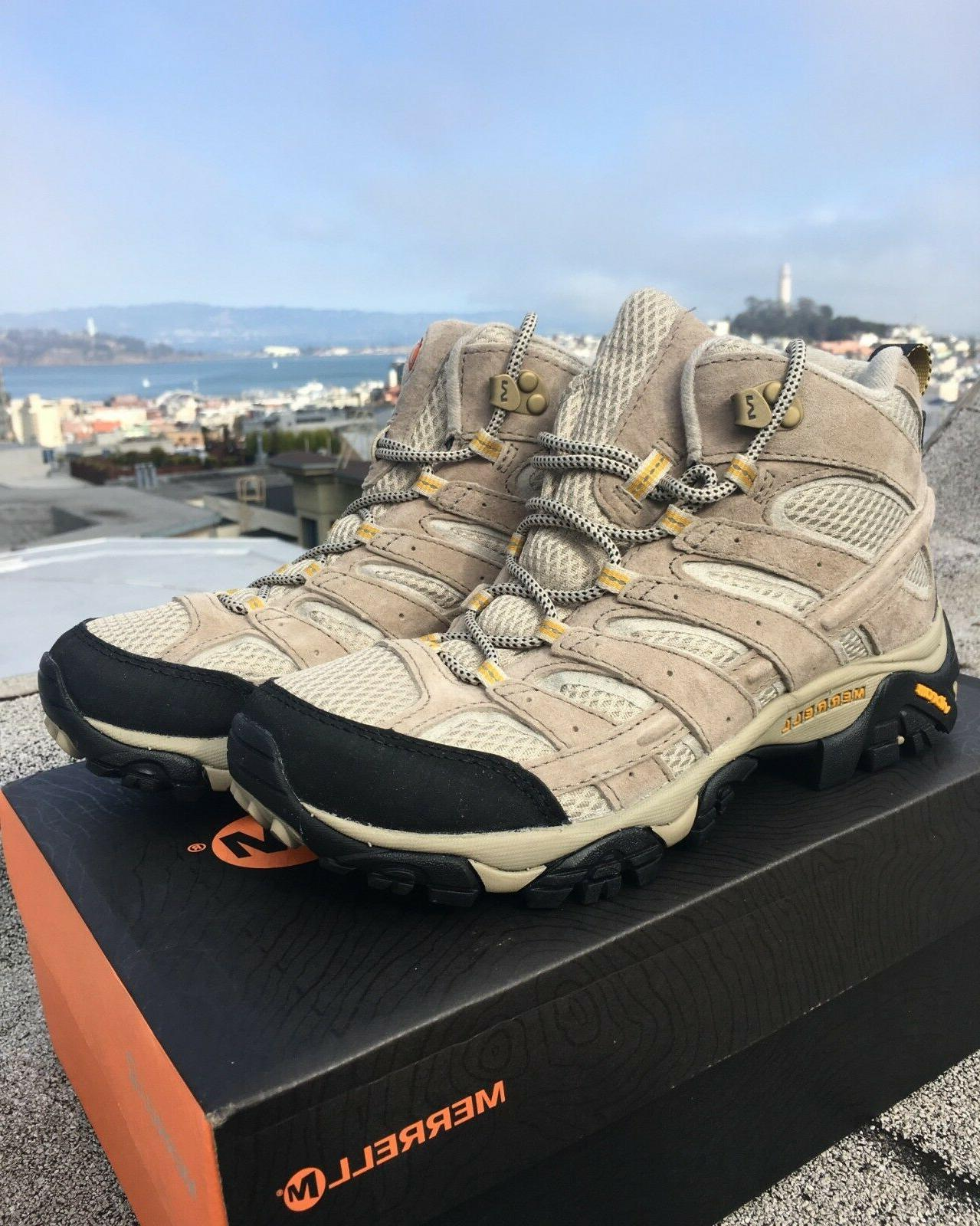 Merrell Women's Moab 2 Vent Mid Hiking Boot - Size 8  - Taup