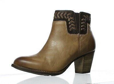 Women's Olukai 'Kamahoi' Block Heel Bootie, Size 5 M - Grey