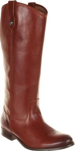Women's Frye 'Melissa Button' Boot, Size 6 Ext Calf M - Brow