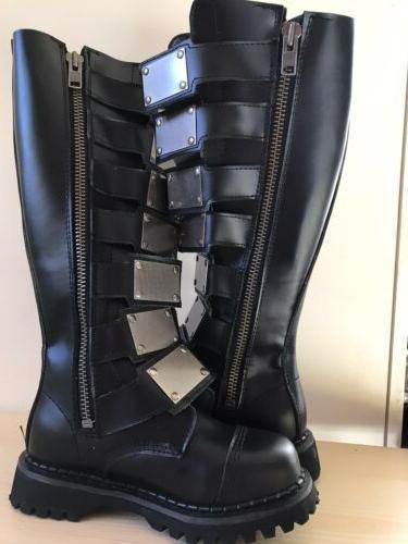Demonia Boots Punk Metal Size 5 Womens 7
