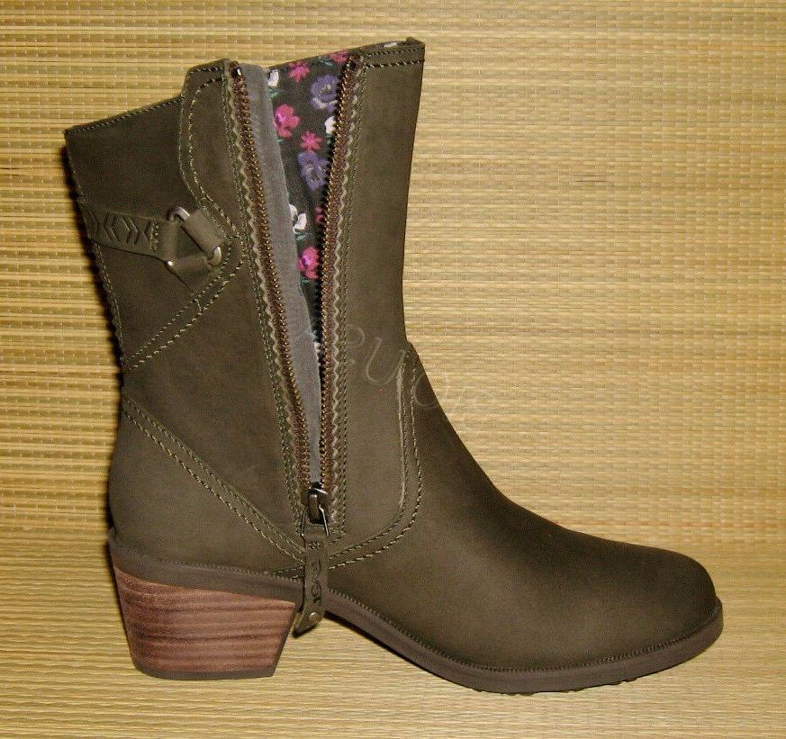BRAND Teva Mid Leather Boot WOMENS SIZE 7.5