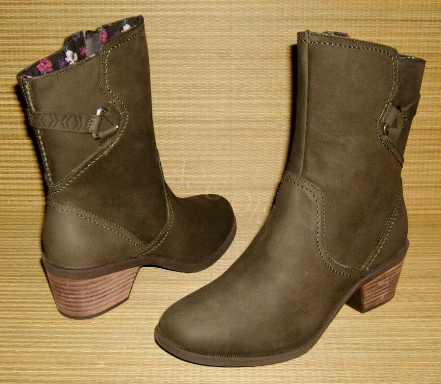 brand new foxy mid boots black olive