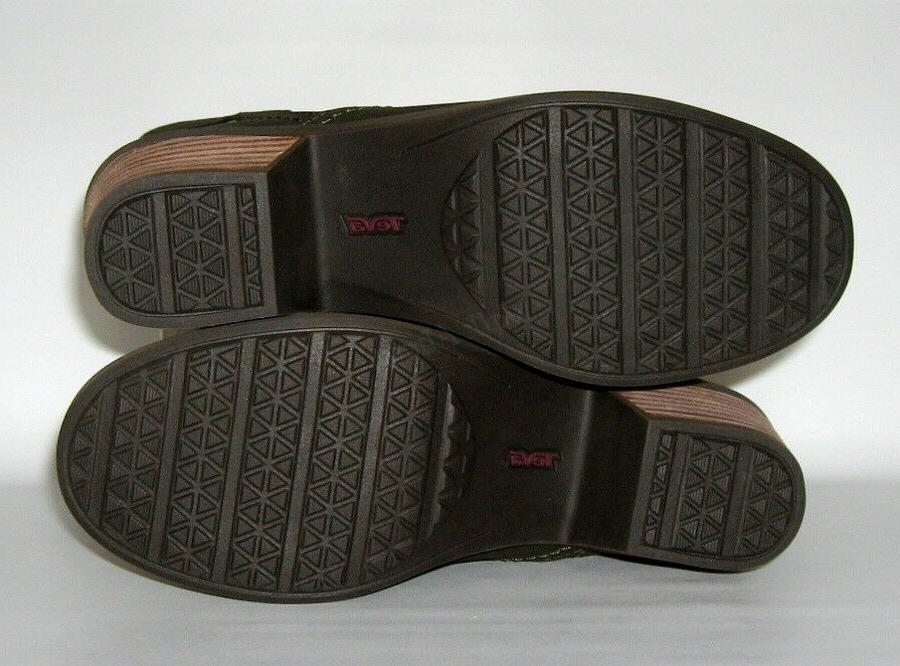 BRAND NEW TEVA MID LEATHER BOOTS SIZE