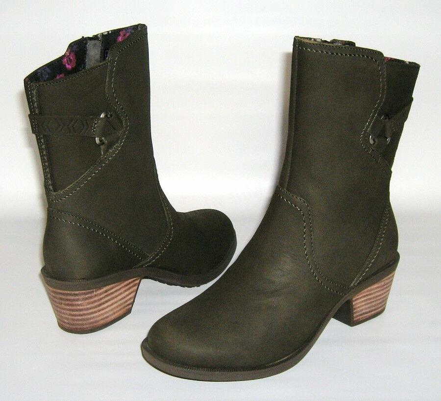 brand new foxy mid leather boots womens