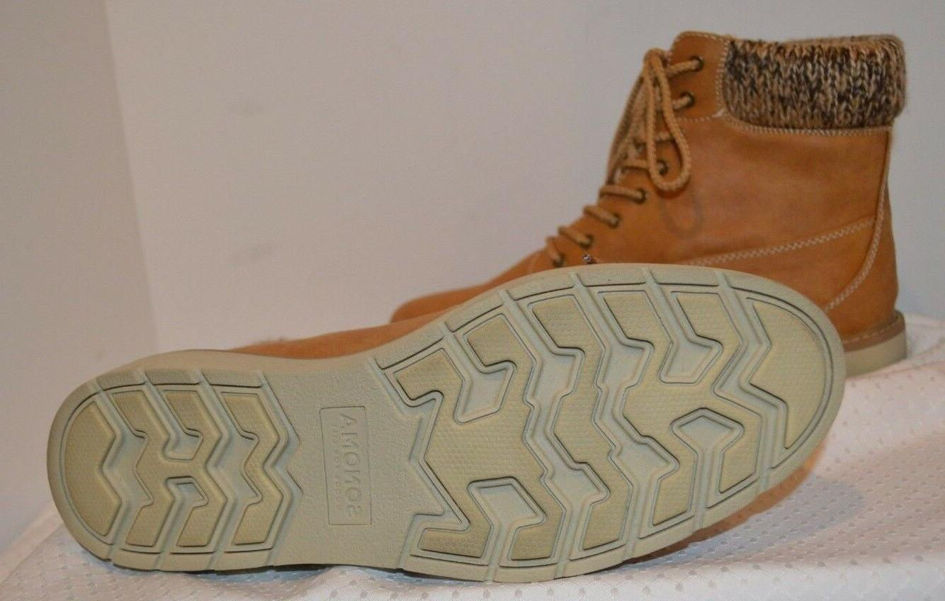 BRAND NEW Sonoma Ortholite Women's Suede Top Boots 10