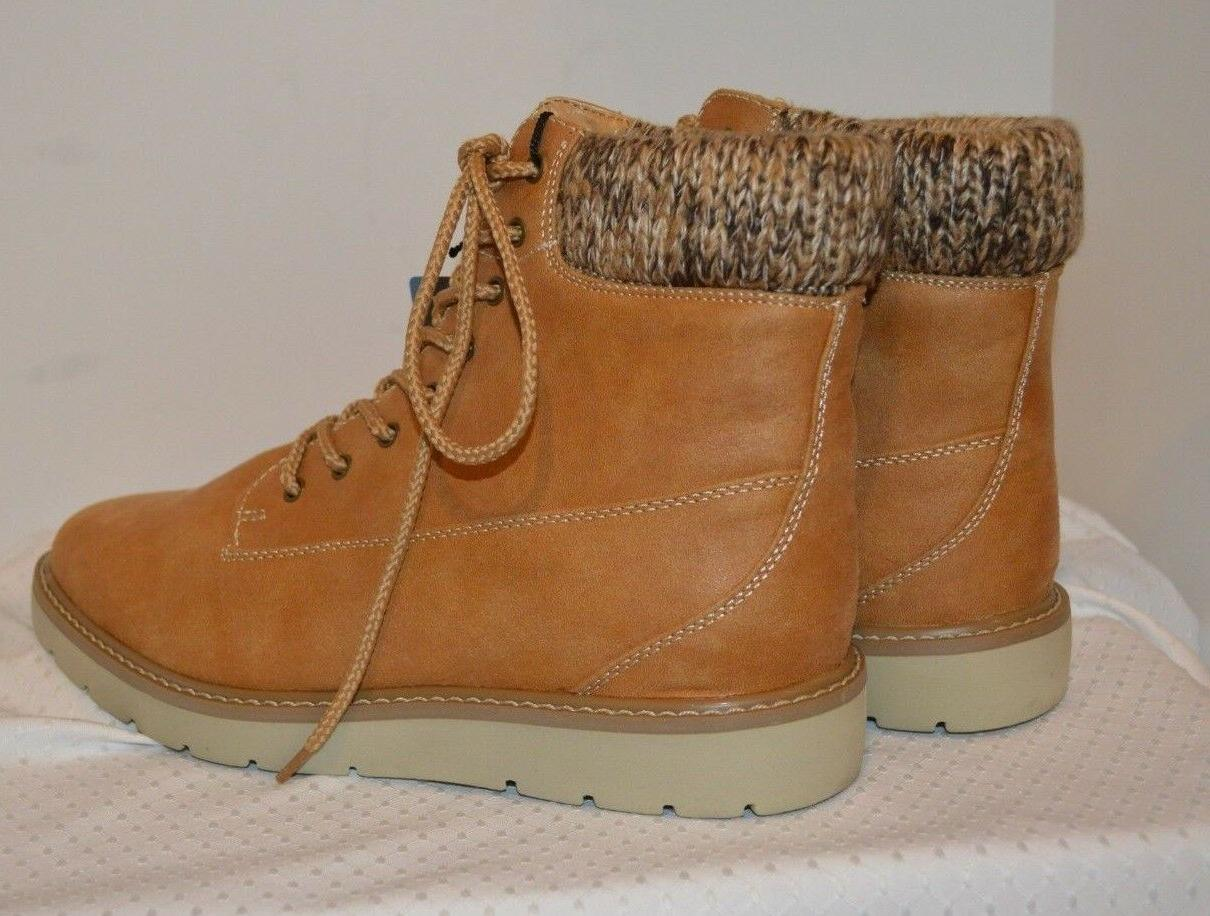 BRAND NEW Women's Suede Ankle Top Boots Size
