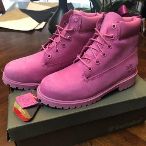 Brand new Waterproof Pink Timberland Boots