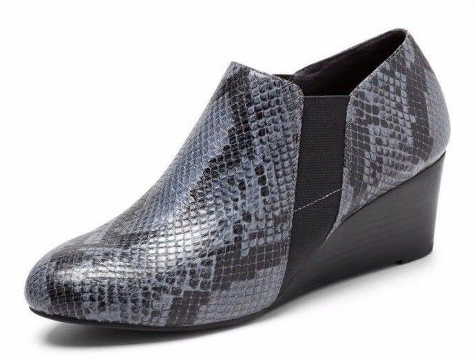 Vionic by Orthaheel ELEVATED STANTON GREY SNAKE Women's Shoe
