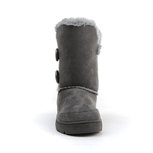 CLPP'LI Button Fully Fur Waterproof Winter