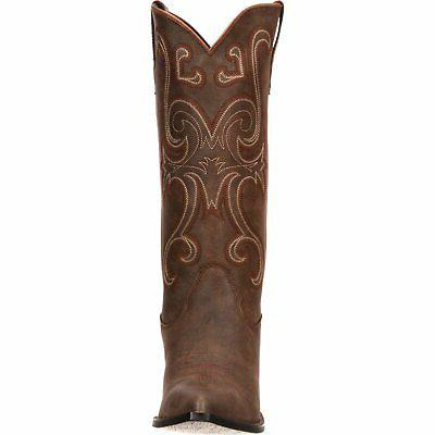 Crush by Durango Brown Western heel Inches height