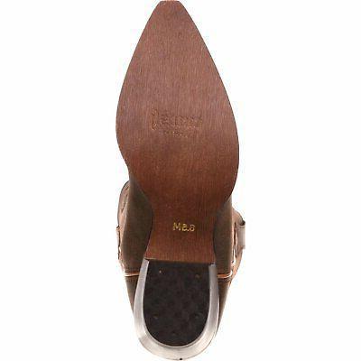Crush Brown heel 13 height