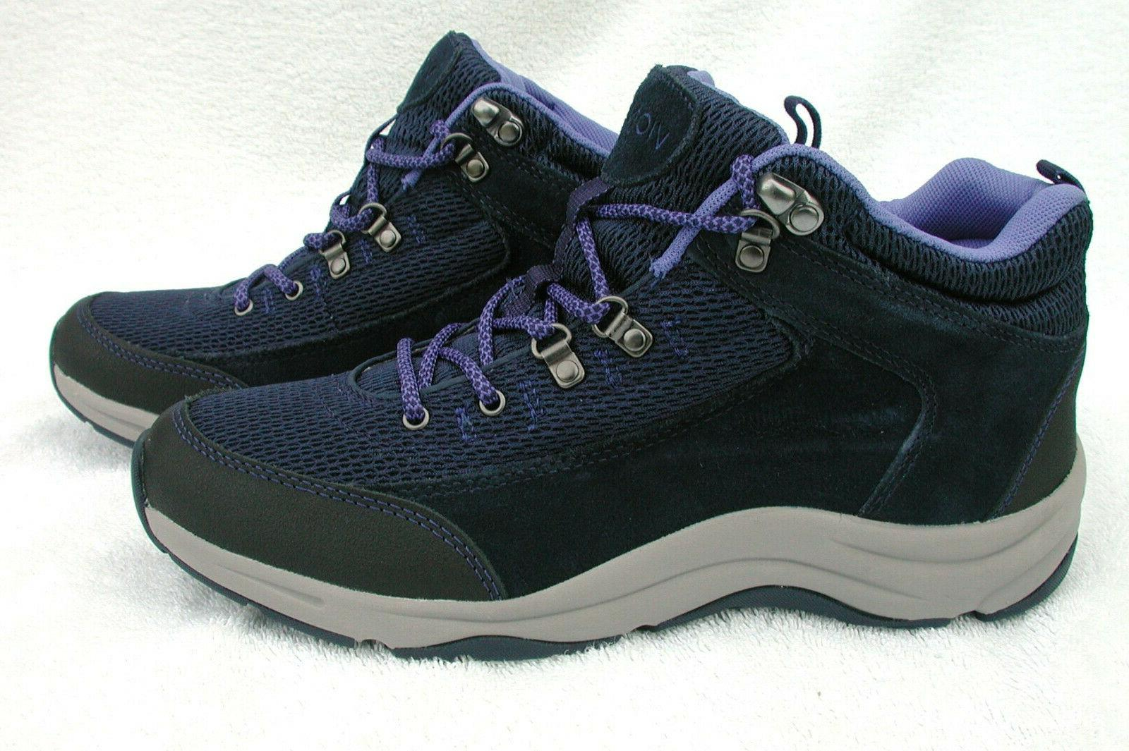 Vionic 9 Water-Resistant Hiking Boots~NEW~Blue