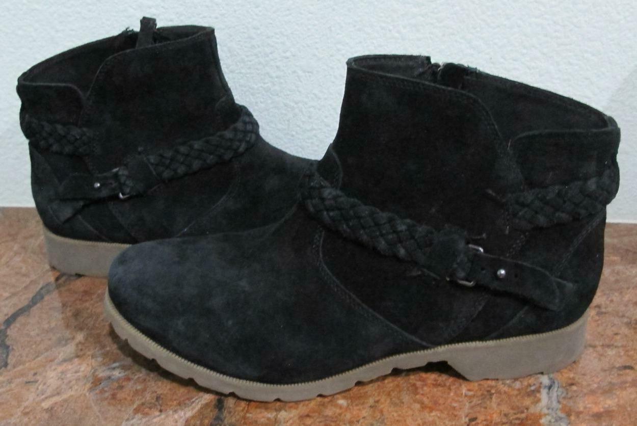 Teva LA #1008601 Black Ankle Boots~US 9~NWOB