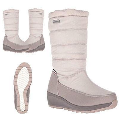 detroit women s nylon waterproof snow boots