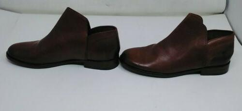 Frye Elyssa Shootie Womens Brown Boots Size