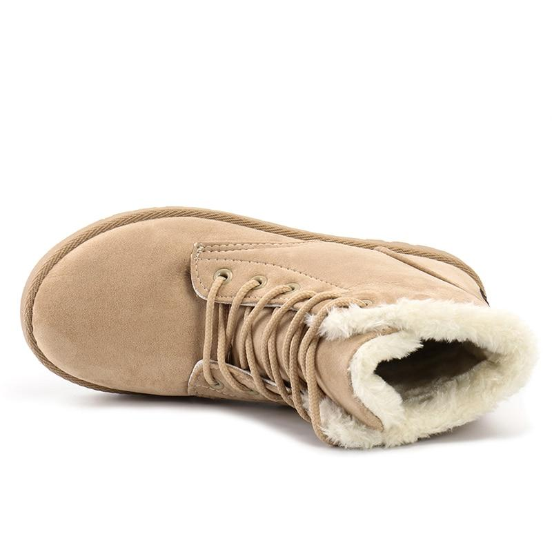 <font><b>ALEADER</b></font> Fashion Ankle <font><b>Boots</b></font> Fur Lightweight <font><b>Boots</b></font> <font><b>Snow</b></font> Shoes Flat bota