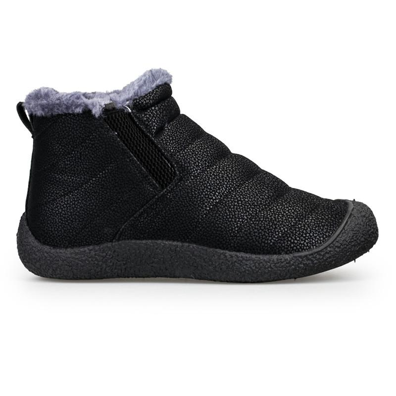 <font><b>ALEADER</b></font> Slip <font><b>Boots</b></font> Warm Casual <font><b>Snow</b></font> <font><b>Boots</b></font> Waterproof Fashion Fur Shoes Youth Walking