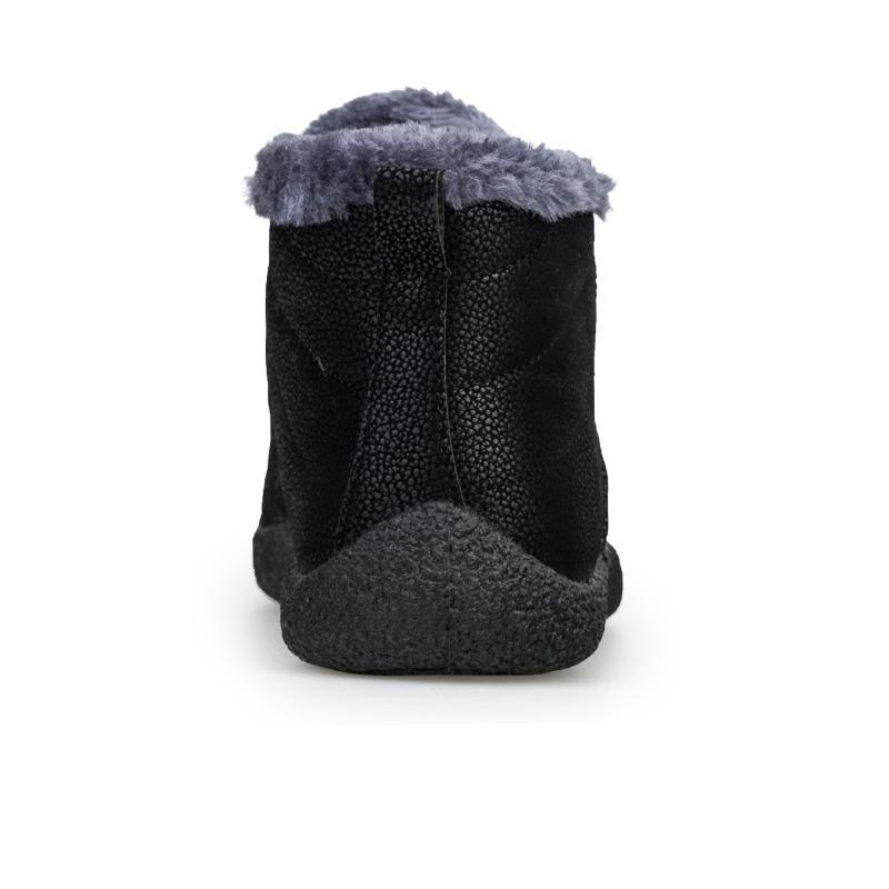 <font><b>ALEADER</b></font> Slip <font><b>Snow</b></font> Fur Shoes Walking