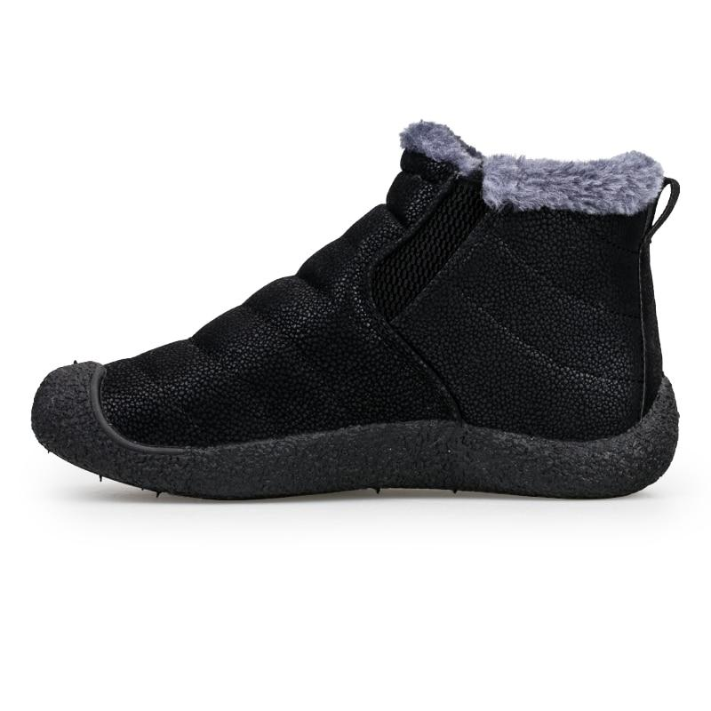<font><b>ALEADER</b></font> <font><b>Boots</b></font> Warm <font><b>Snow</b></font> <font><b>Boots</b></font> Fur Shoes Walking <font><b>Boots</b></font>