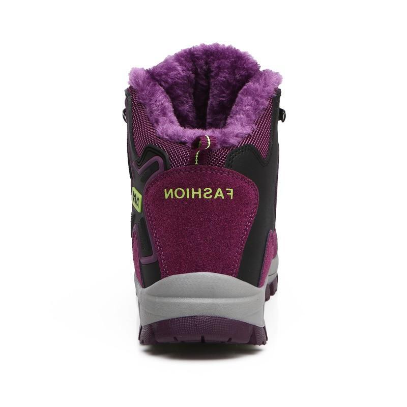 <font><b>ALEADER</b></font> Winter <font><b>Boots</b></font> Shoes Walking <font><b>Snow</b></font> <font><b>Boots</b></font>