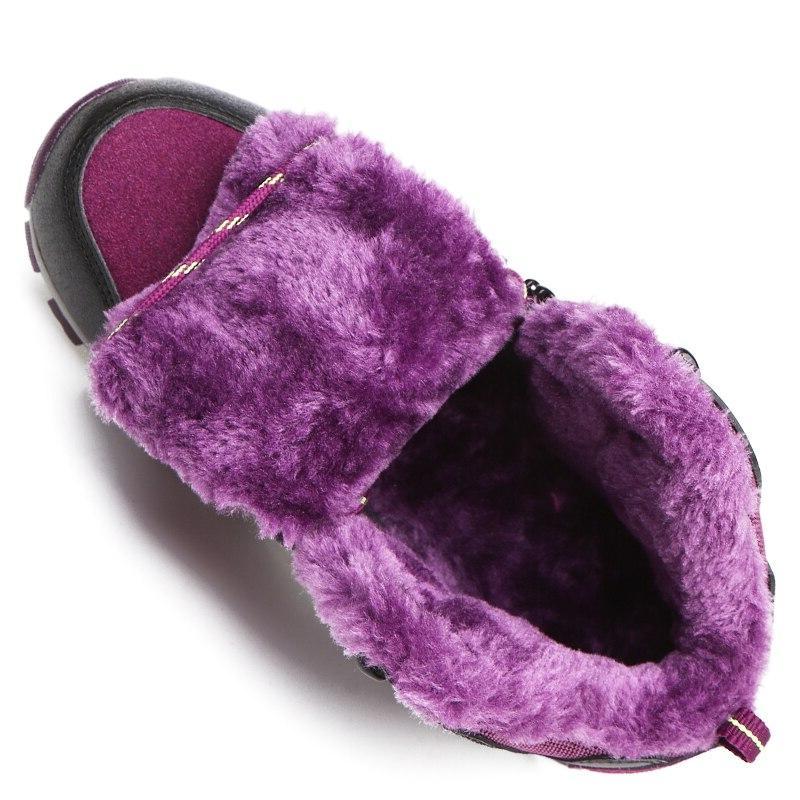 <font><b>ALEADER</b></font> Winter <font><b>Womens</b></font> <font><b>Boots</b></font> Comfortable Shoes Waterproof Work Shoes With Fur Walking <font><b>Snow</b></font> <font><b>Boots</b></font>