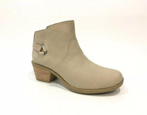 foxy ankle boots taupe tan nubuck stacked